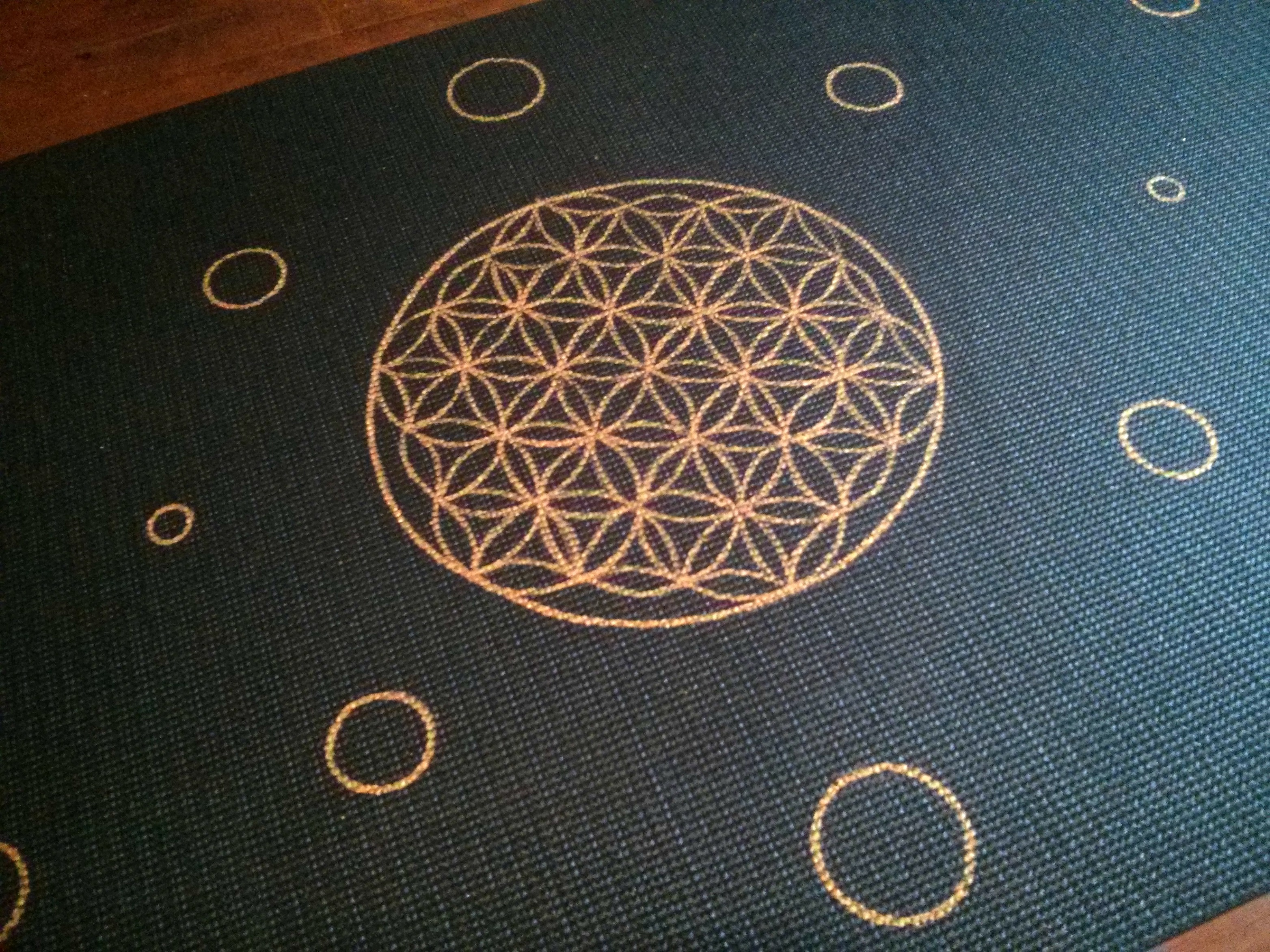 Flower of life close up.