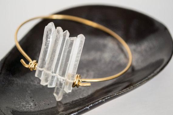 Quartz Crystal Cuff