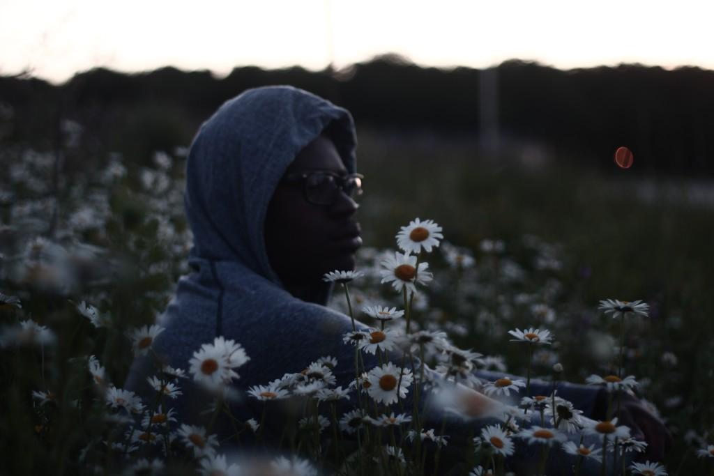 man in daisys