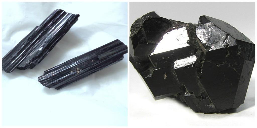 black tourmaline collage